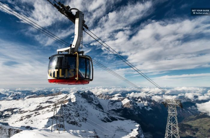 Mount Titlis Day Tour from Zürich