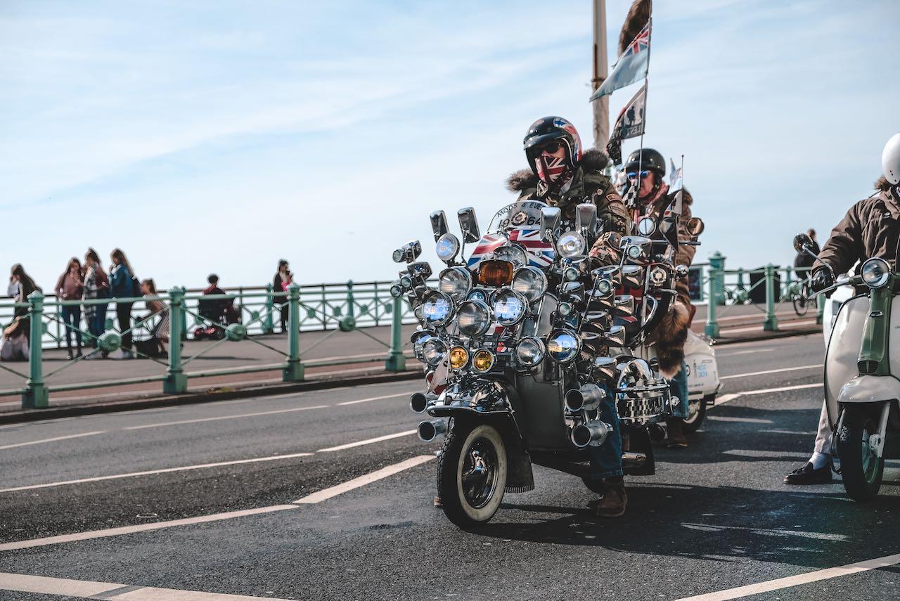 Brighton bikers