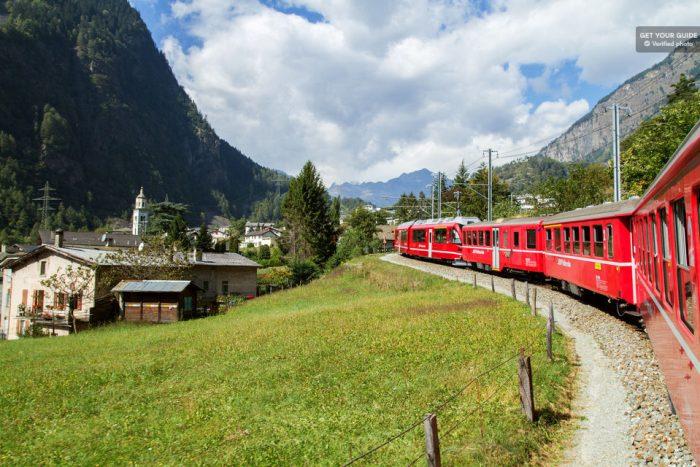 Bernina & St. Moritz Day Tour from Milan