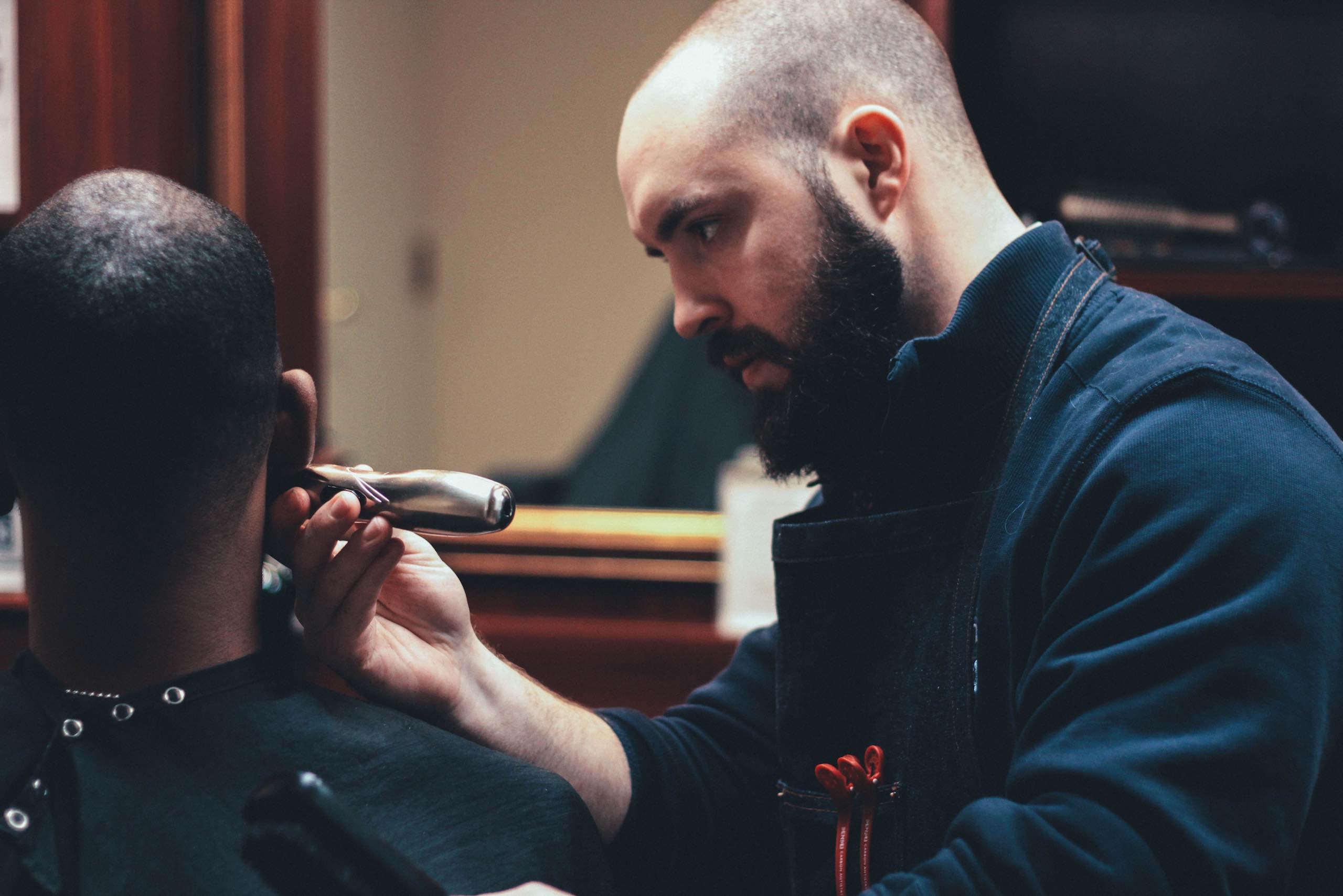 The QG Baltimore Barber Shop