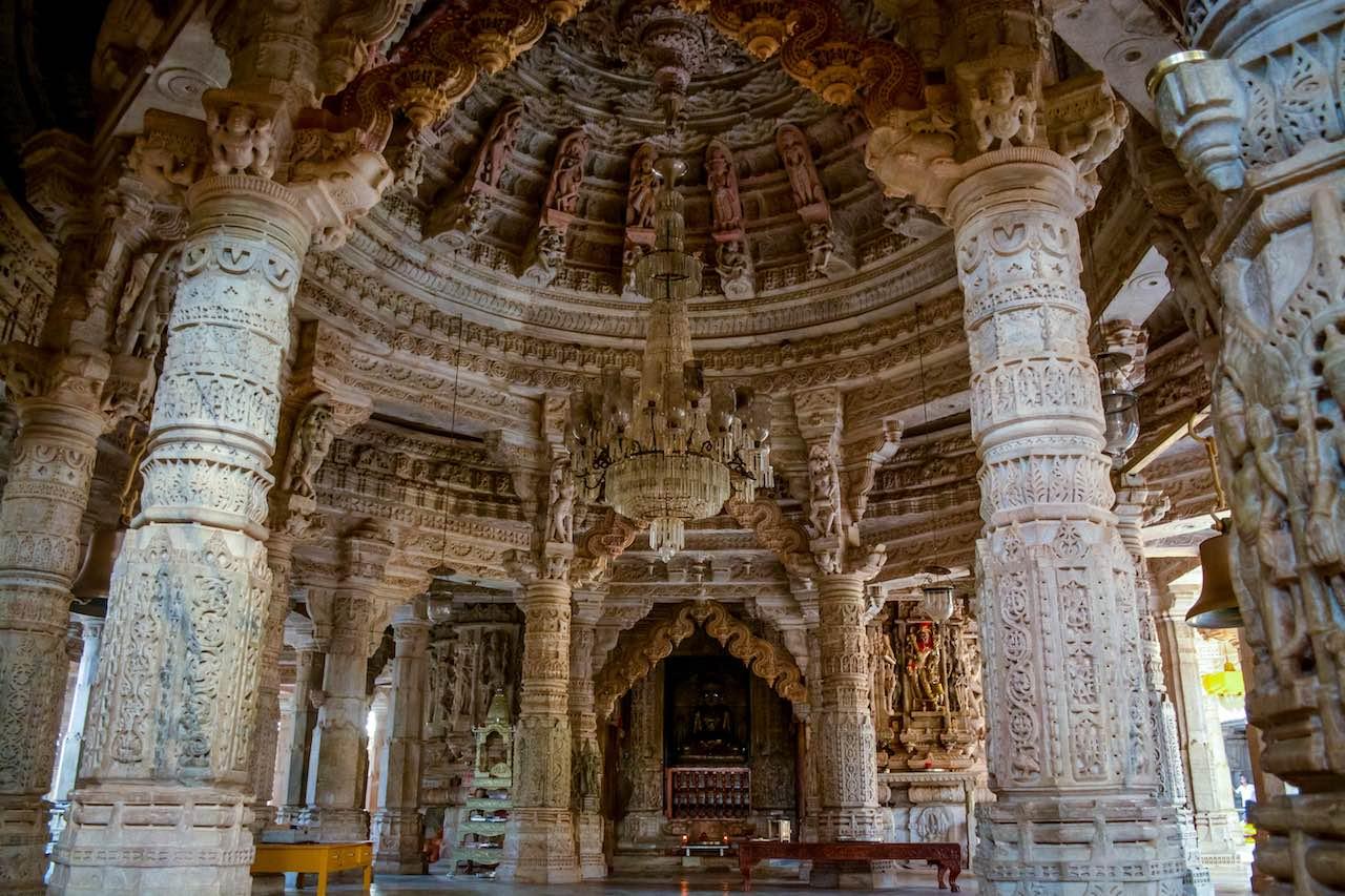 Chaumukha Mandir Ranakpur Rajasthan India