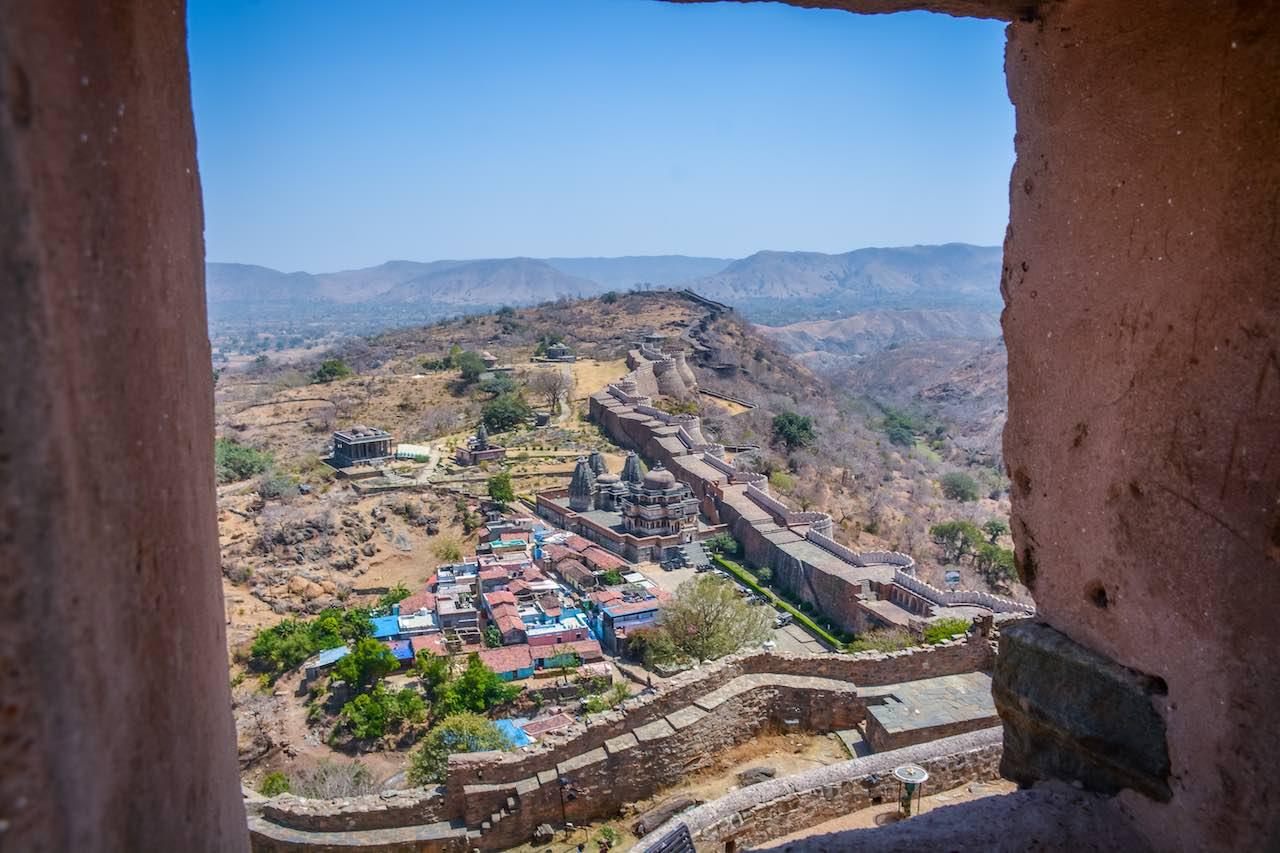 Mewar Fortress of Kumbalgarh Rajasthan India
