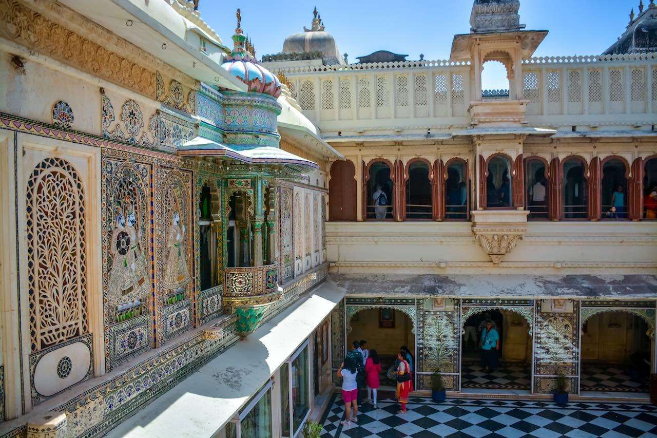 Udaipur City Palace Rajasthan India