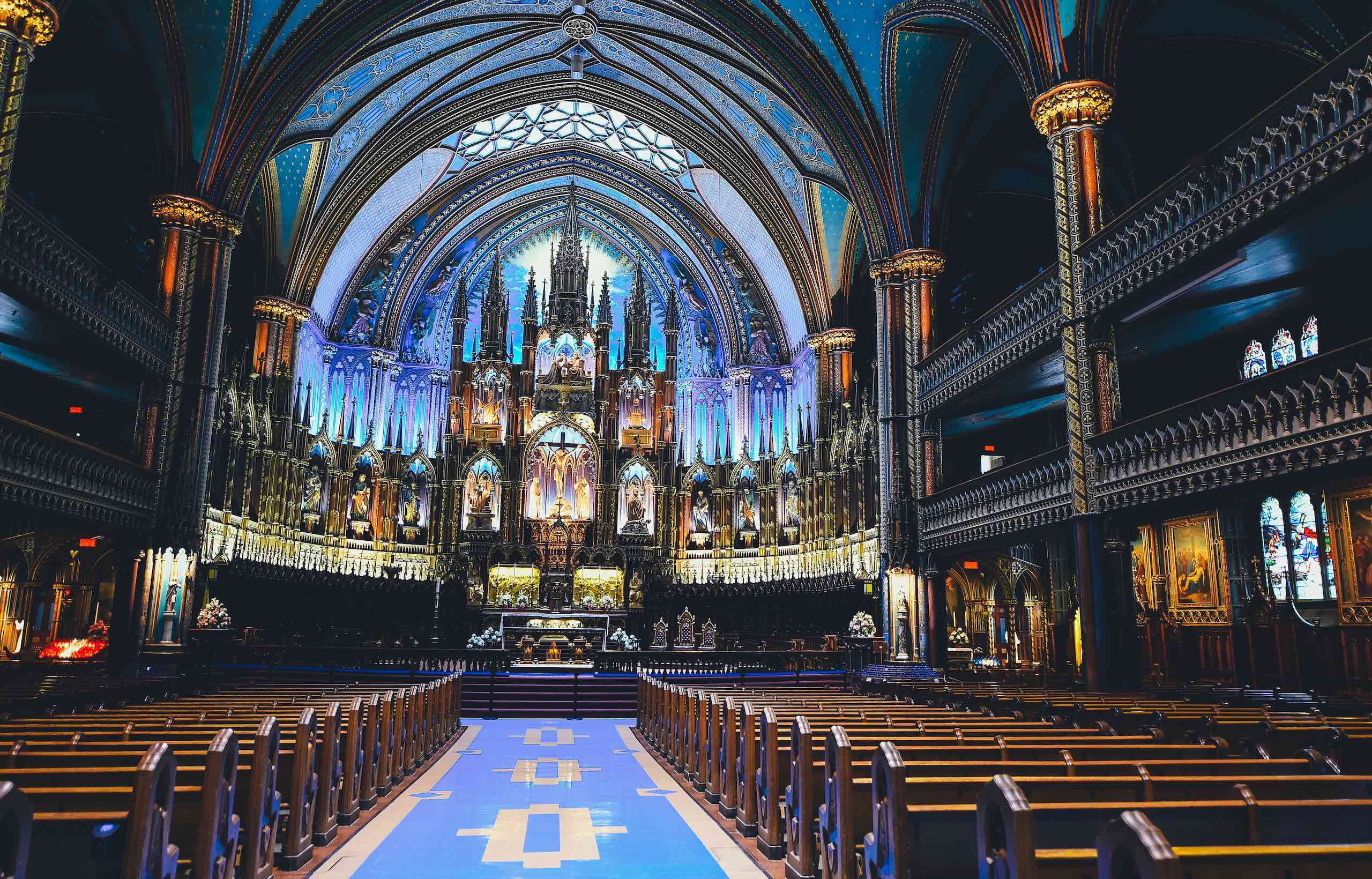 Basilique Notre Dame de Montréal   Photo: Annie Spratt