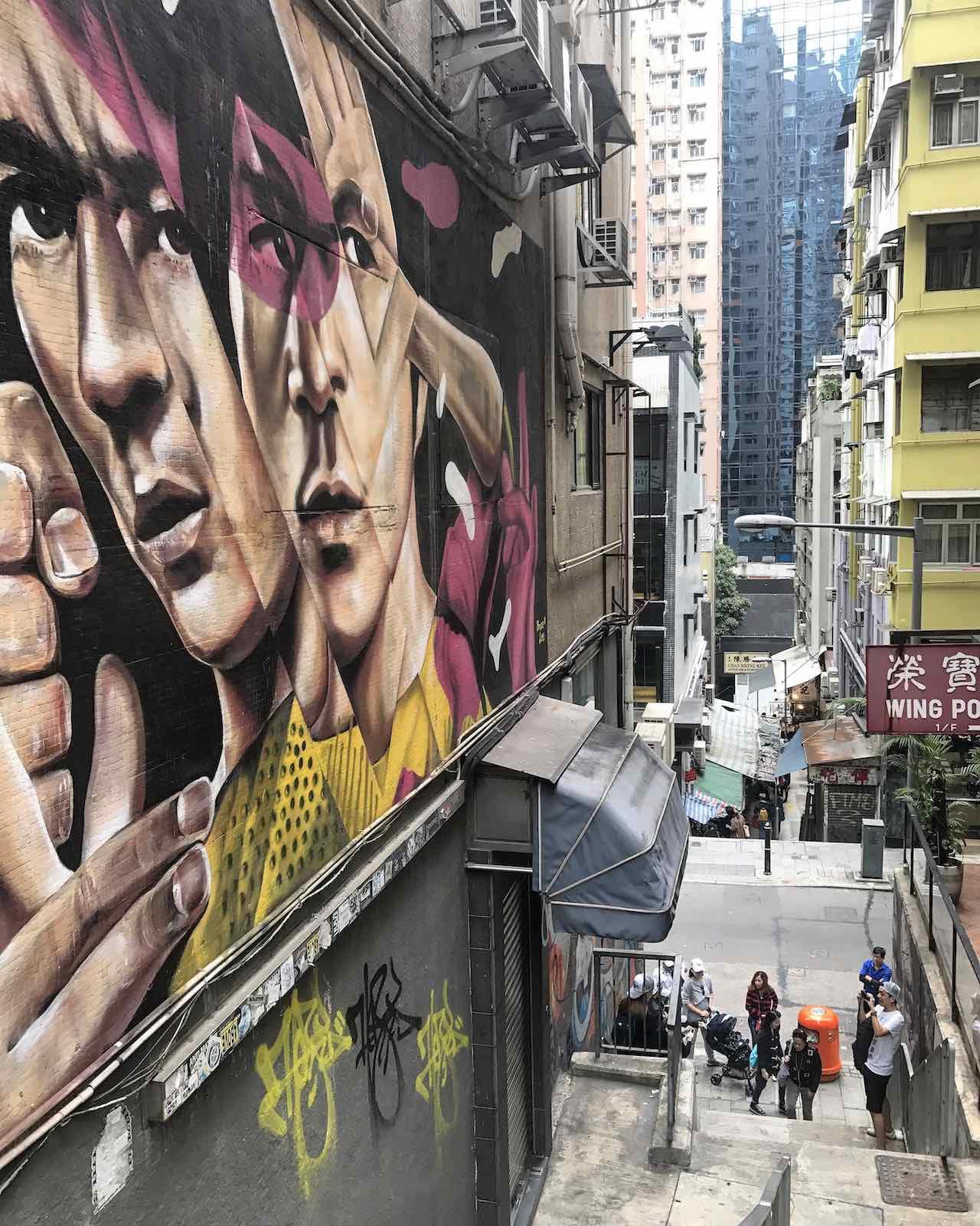 Hong Kong Central Street Art