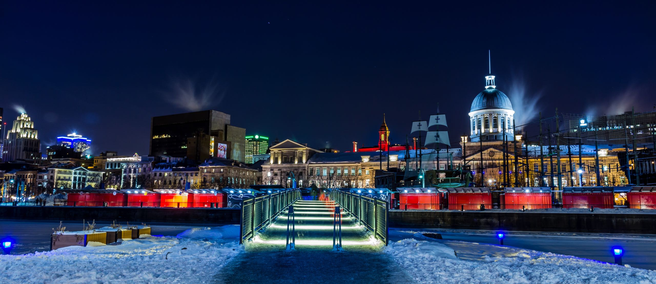 Old Port of Montreal |Photo: Walid Amghar