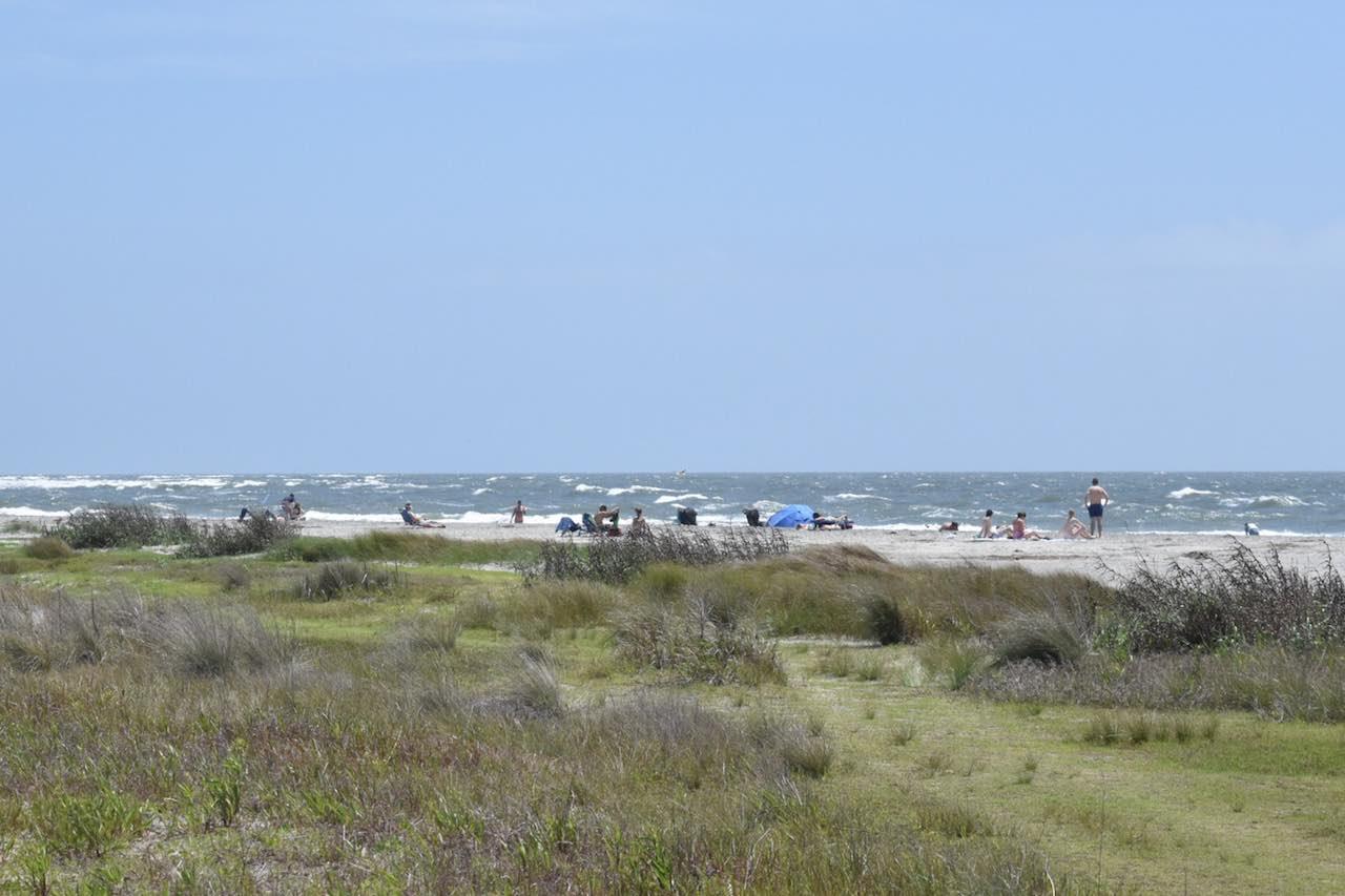Sullivan's Island Beach Carolina