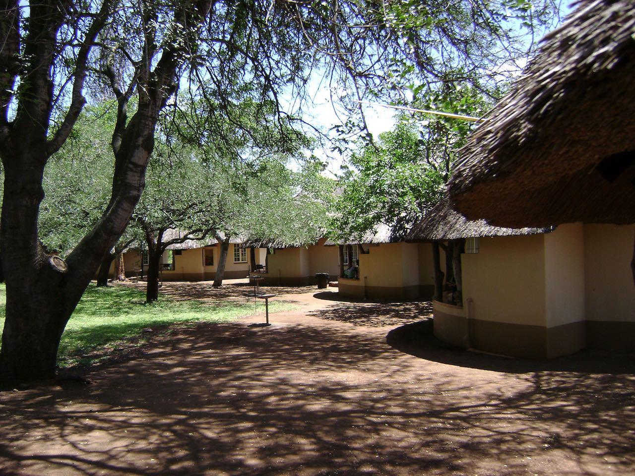 Traditional Rondavels Kruger Park