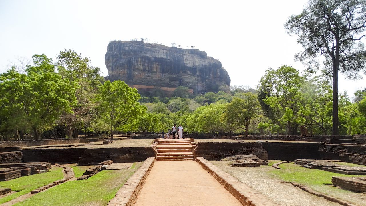 Lion's Rock Sri Lanka