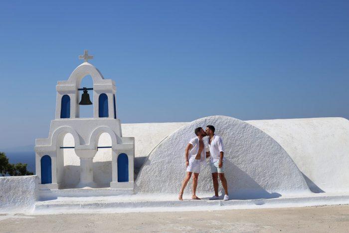 The Travelling Gays Santorini