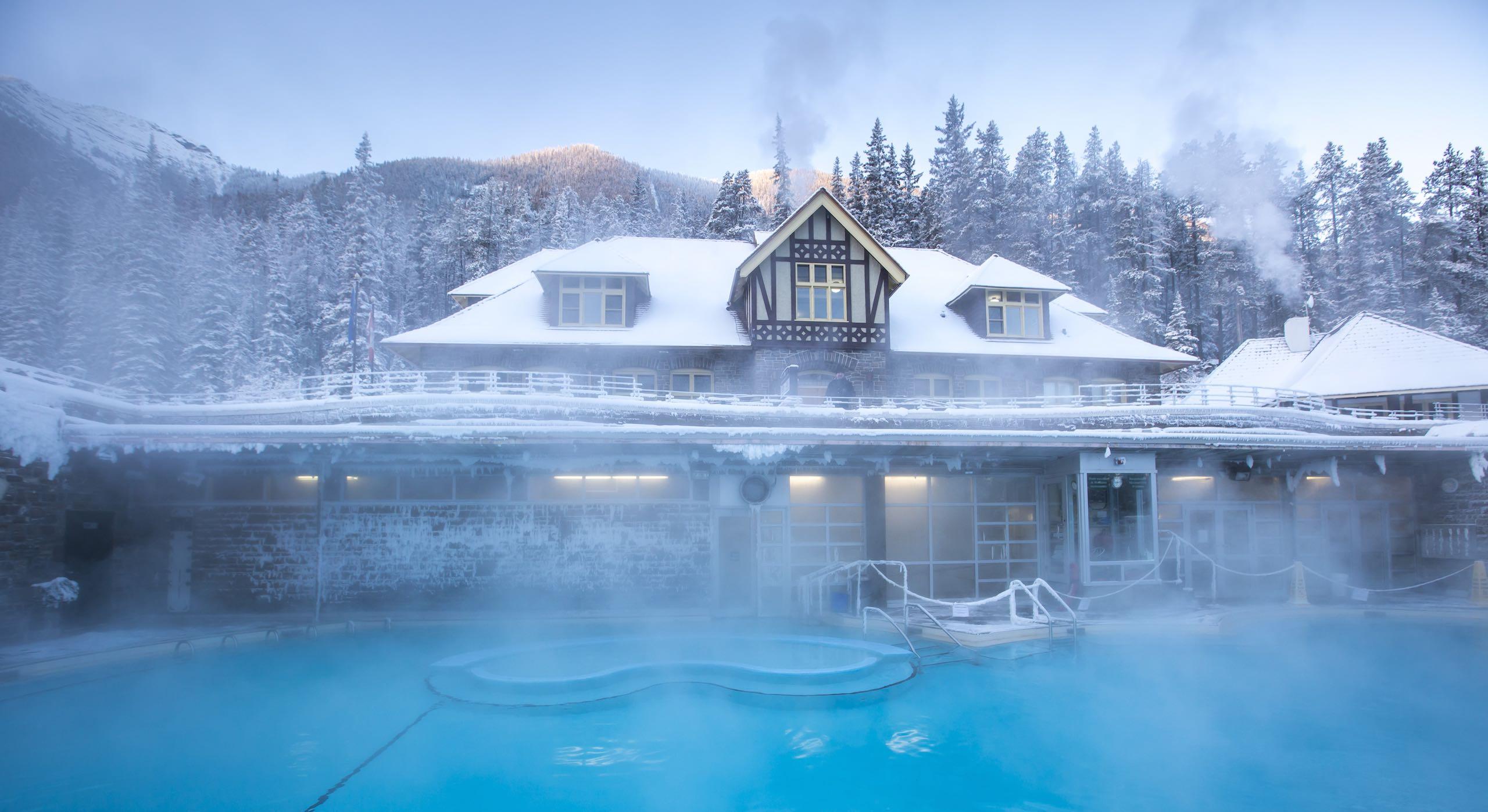 Banff Upper Hot Springs Canada
