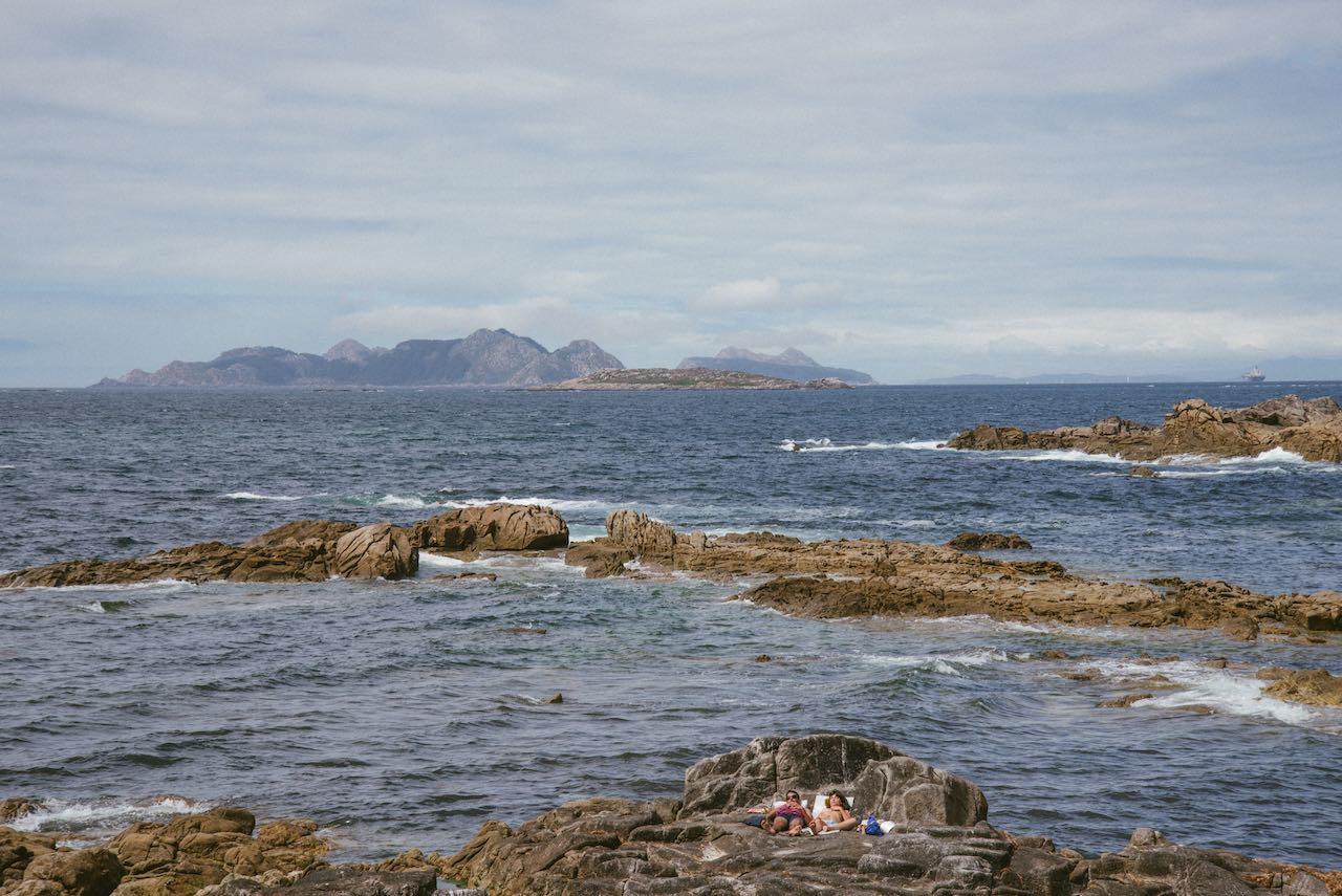 Cies Islands Galicia Spain