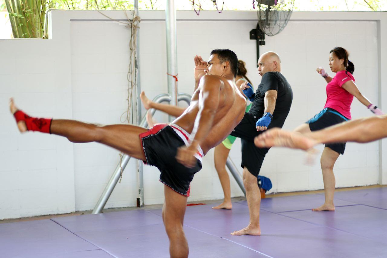 Phuket Cleanse Thailand Muay Thai Class