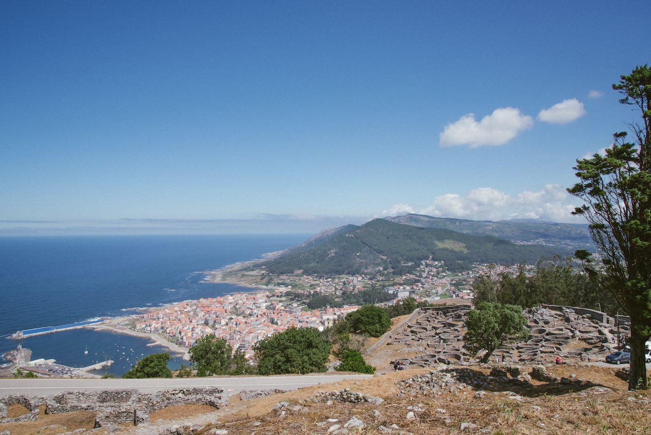 Santa Trega Mountain Galicia Spain