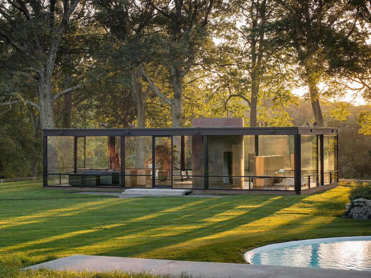 The Glass House New Cananaan
