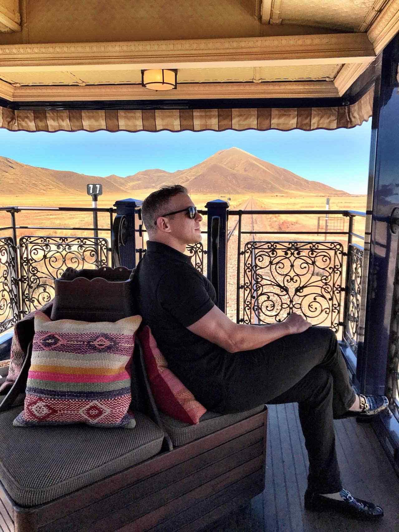 Carlos Melia in the Andes Peru