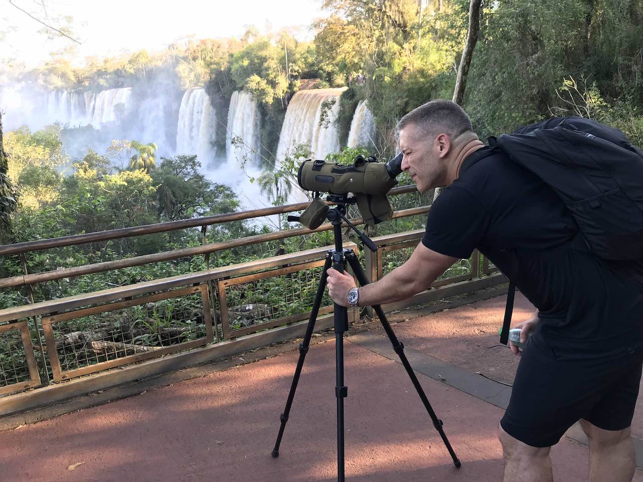Carlos Melia in Iguazu Argentina