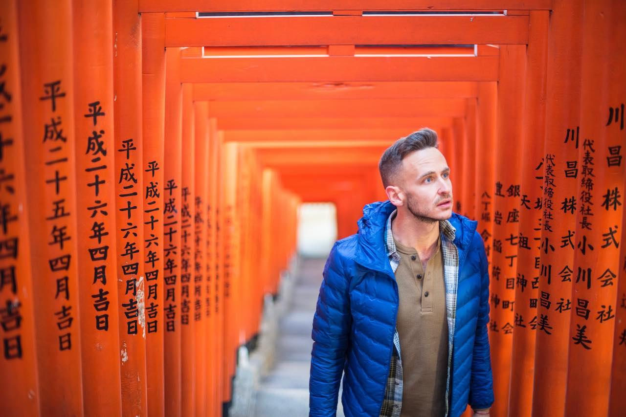 Robert Schrader in Tokyo Japan