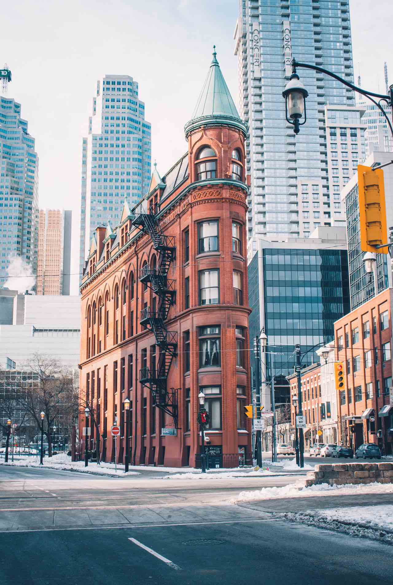 Toronto Canada Brick Building