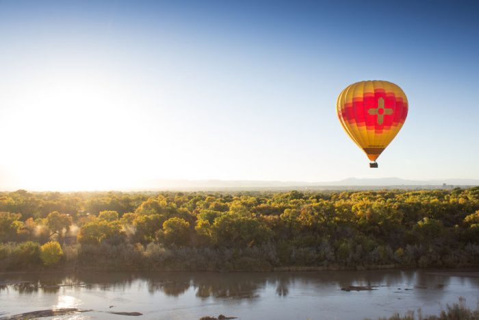 Taos: Hot Air Balloon Ride with Champagne Toast