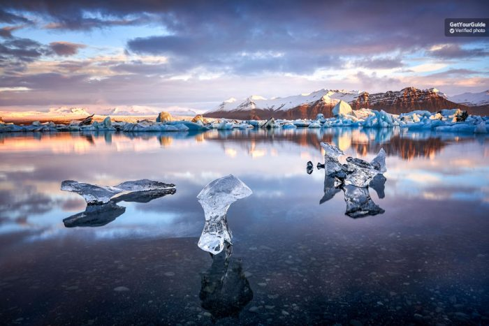 Jökulsárlón Glacier Lagoon Full-Day Tour from Reykjavik