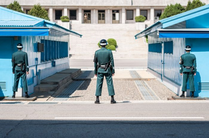 Demilitarized Zone and JSA with Optional Defector Guide