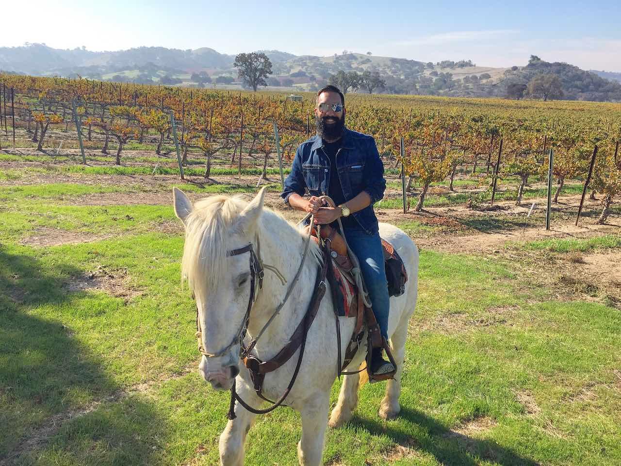David Duran horseback ridding
