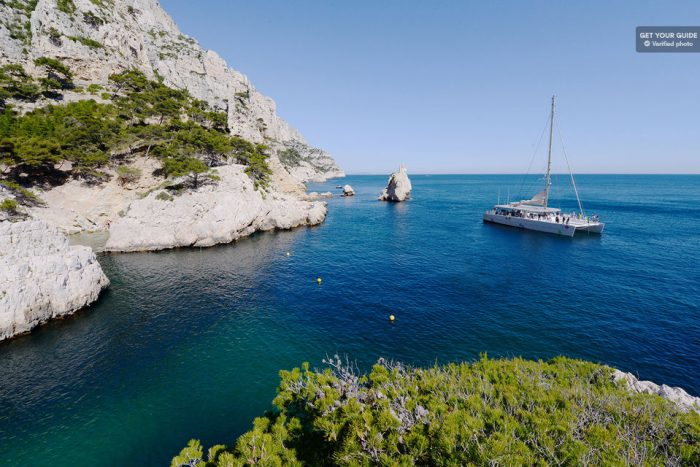 Catamaran Cruise Lunch in the Calanques National Park