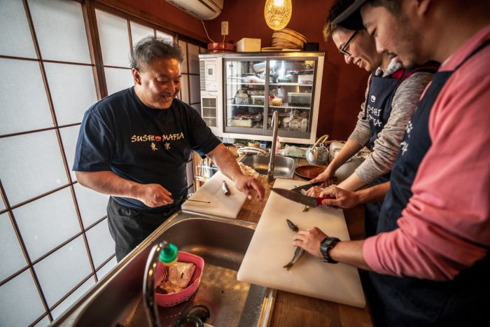 Fish Market Insider Tour & Sushi Workshop