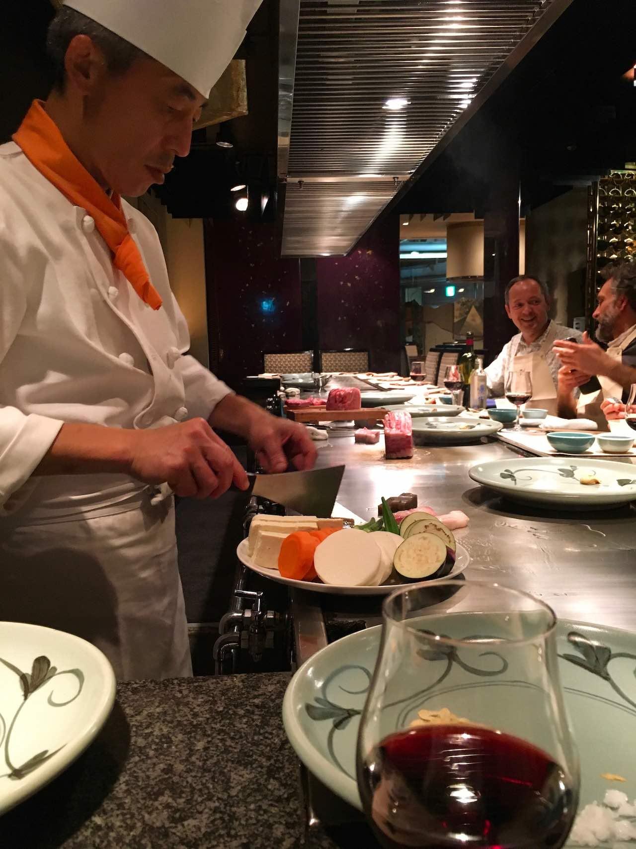 Japan Sushi chef
