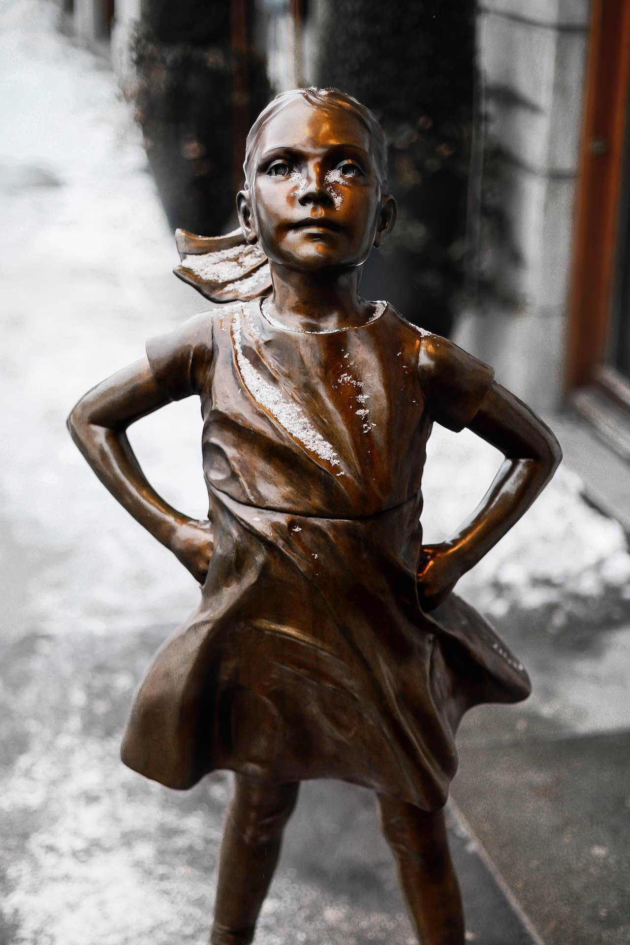 Fearless Girl Statue | Photo: Hyunwon Jang