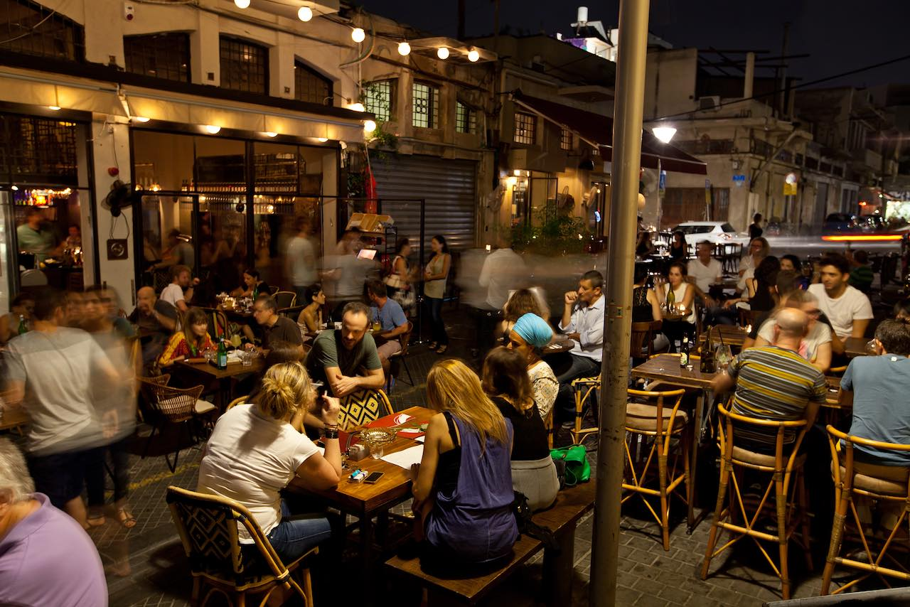 Tel Aviv Onza Restaurant
