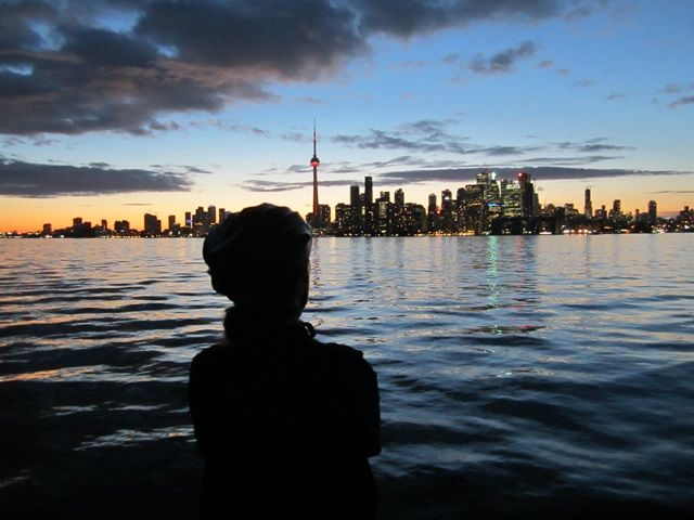Toronto Islands Twilight Bike Ride