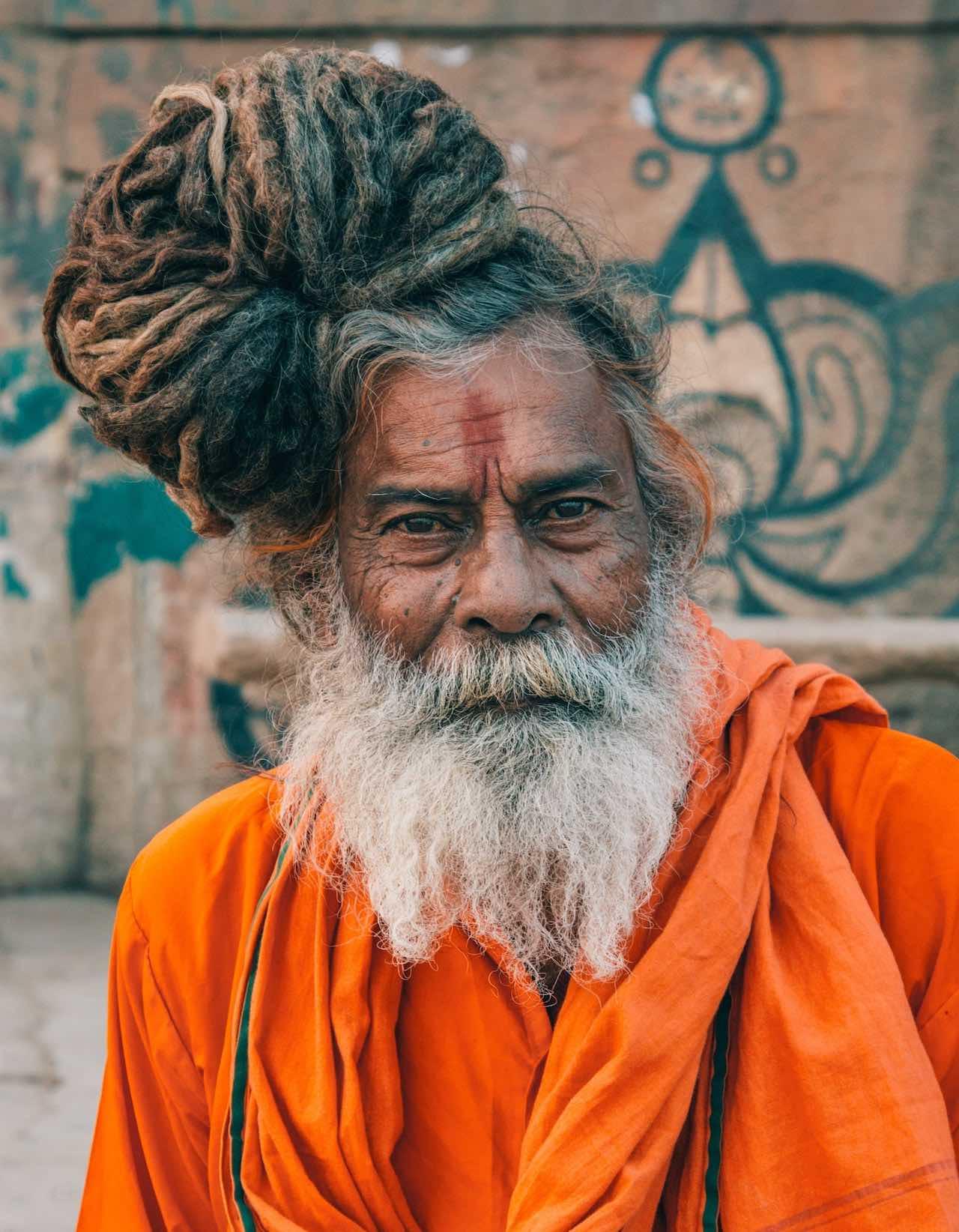 Monk Delhi India