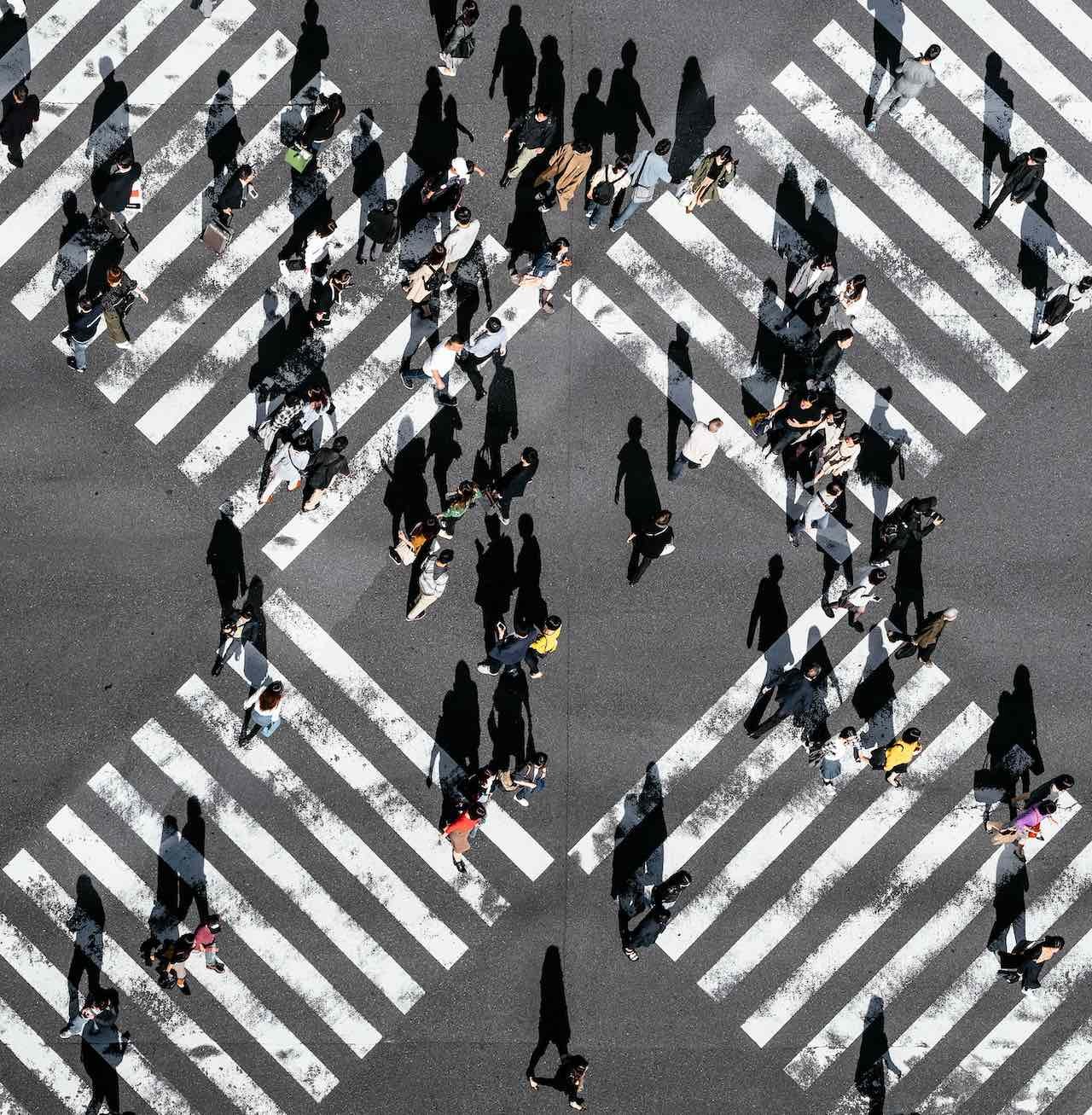 Pedestrian crossing Tokyo