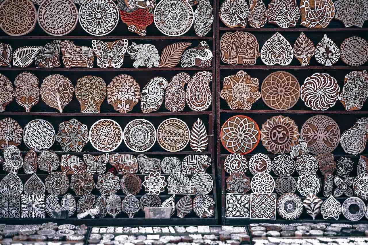 Shopping Delhi India