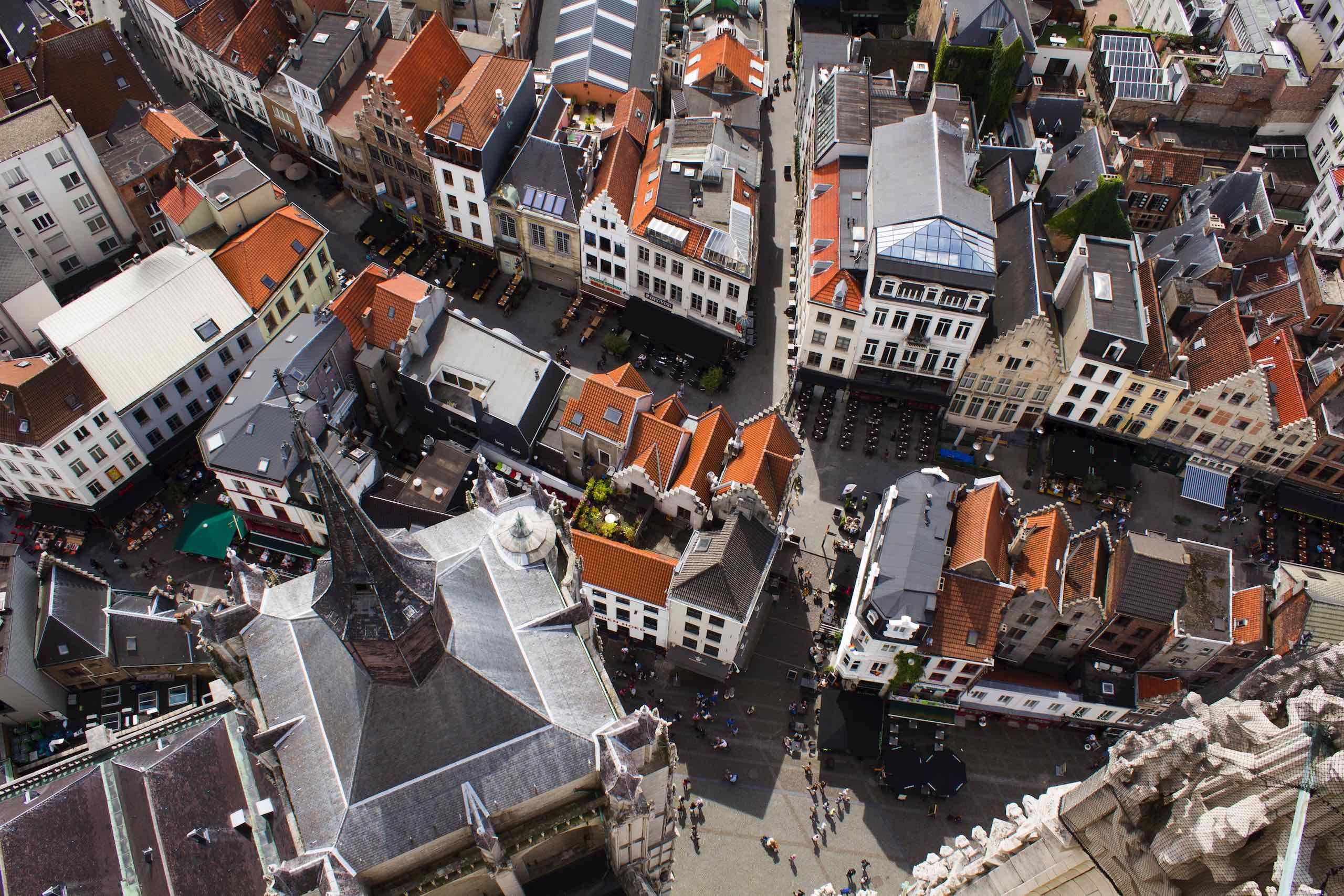 Aerial Antwerp