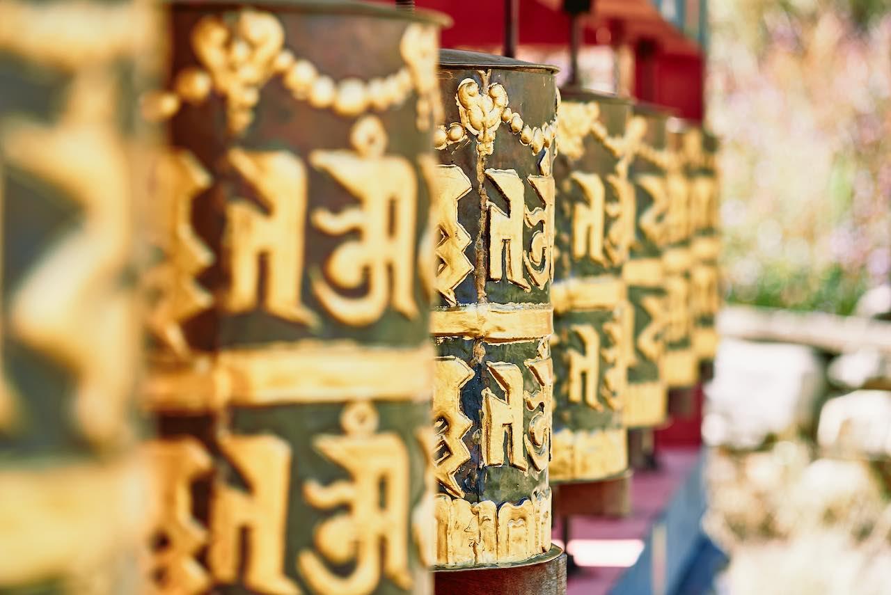Bhuddist Prayer Wheels Bhutan