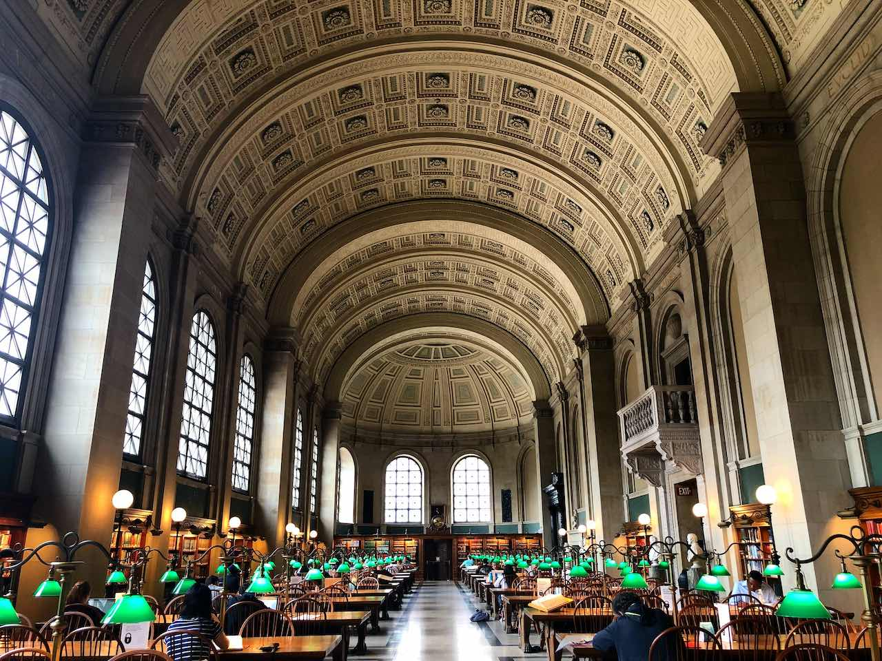 Boston Public Library   Photo: C. J.