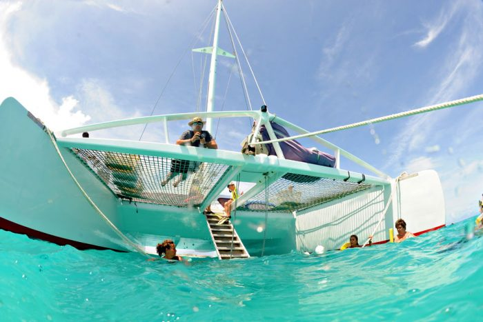 Full-Day Catamaran Sail to Prickly Pear and Anguilla