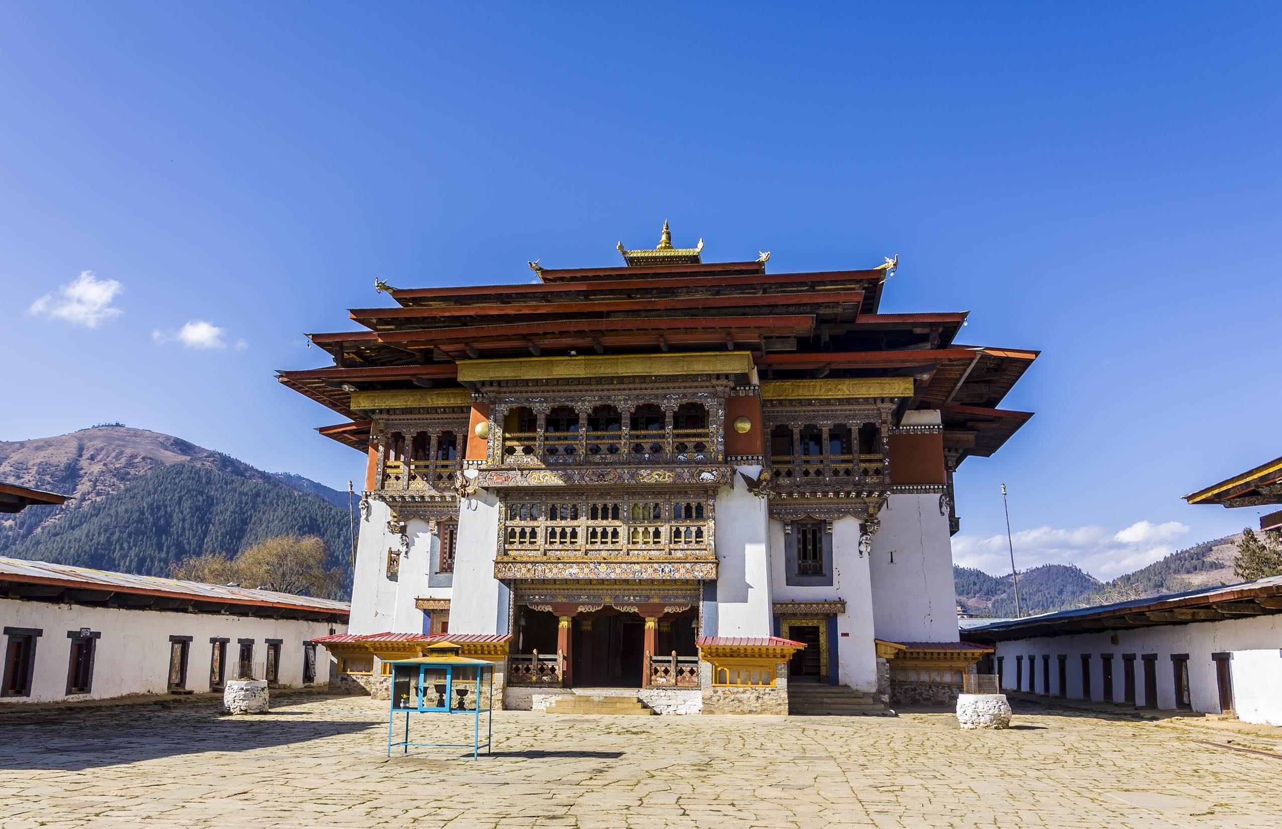 Gangtey Goemba Monastery Bhutan