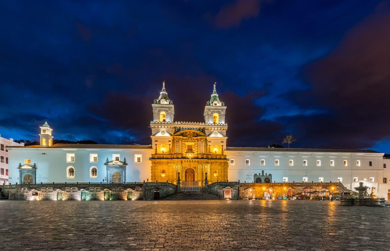 Iglesia de San Francisco en Quito