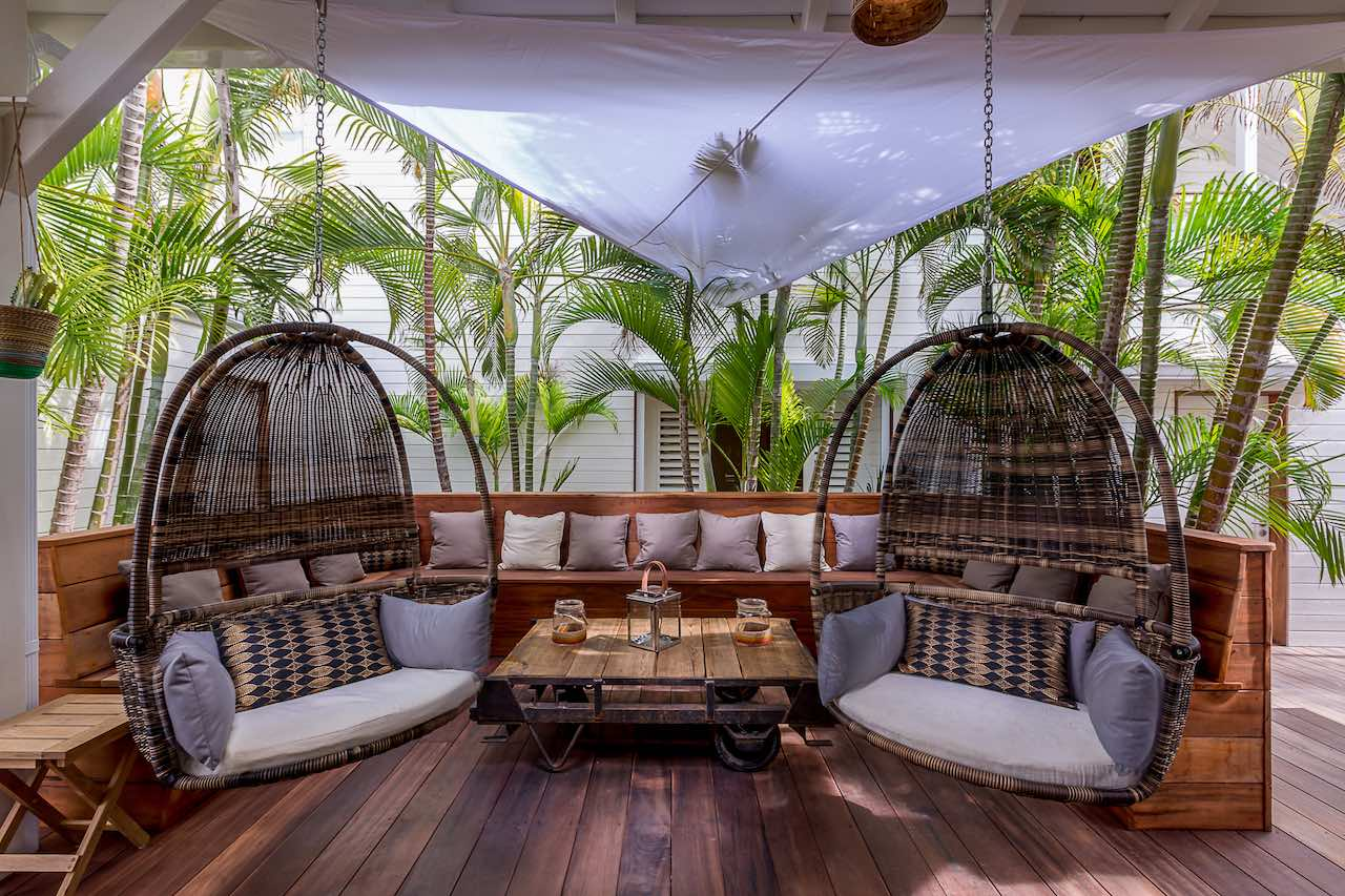 Lounge at LTC Boutique Hotel - St. Maarten