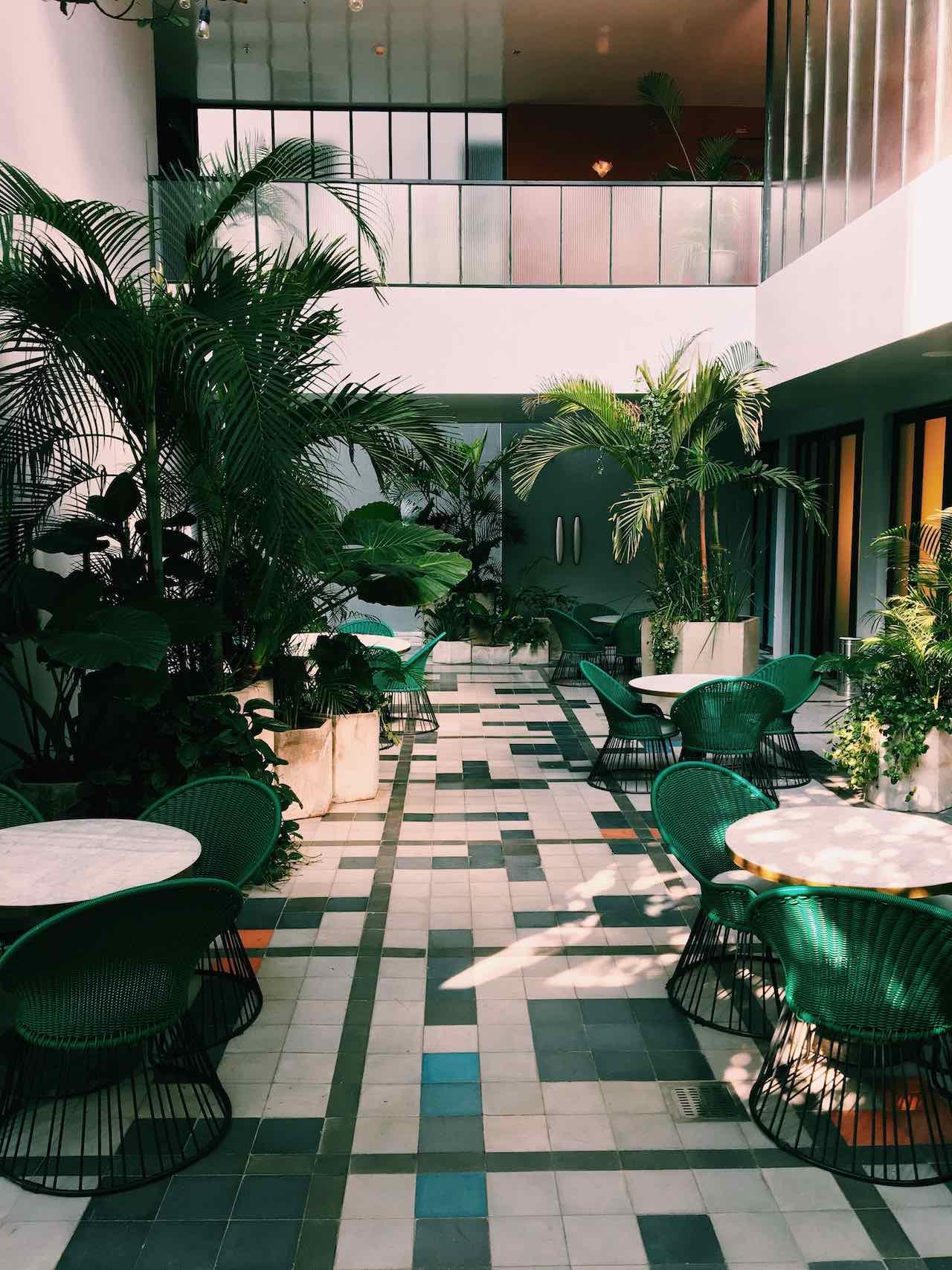 hotel interior terrace Myrtle Beach