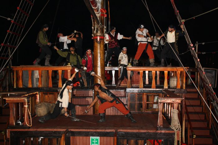 Pirates of the Bay Dinner Cruise