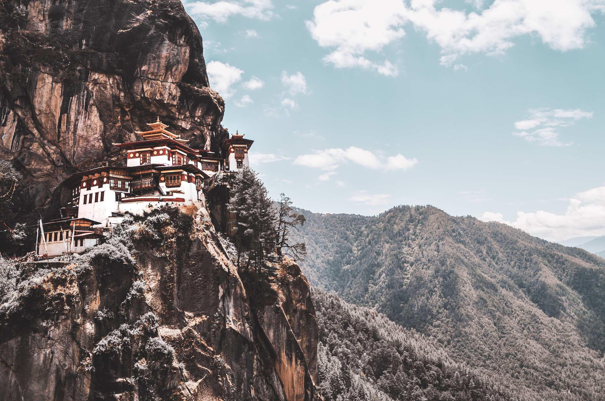 Tigers Nest Bhutan Sam Power