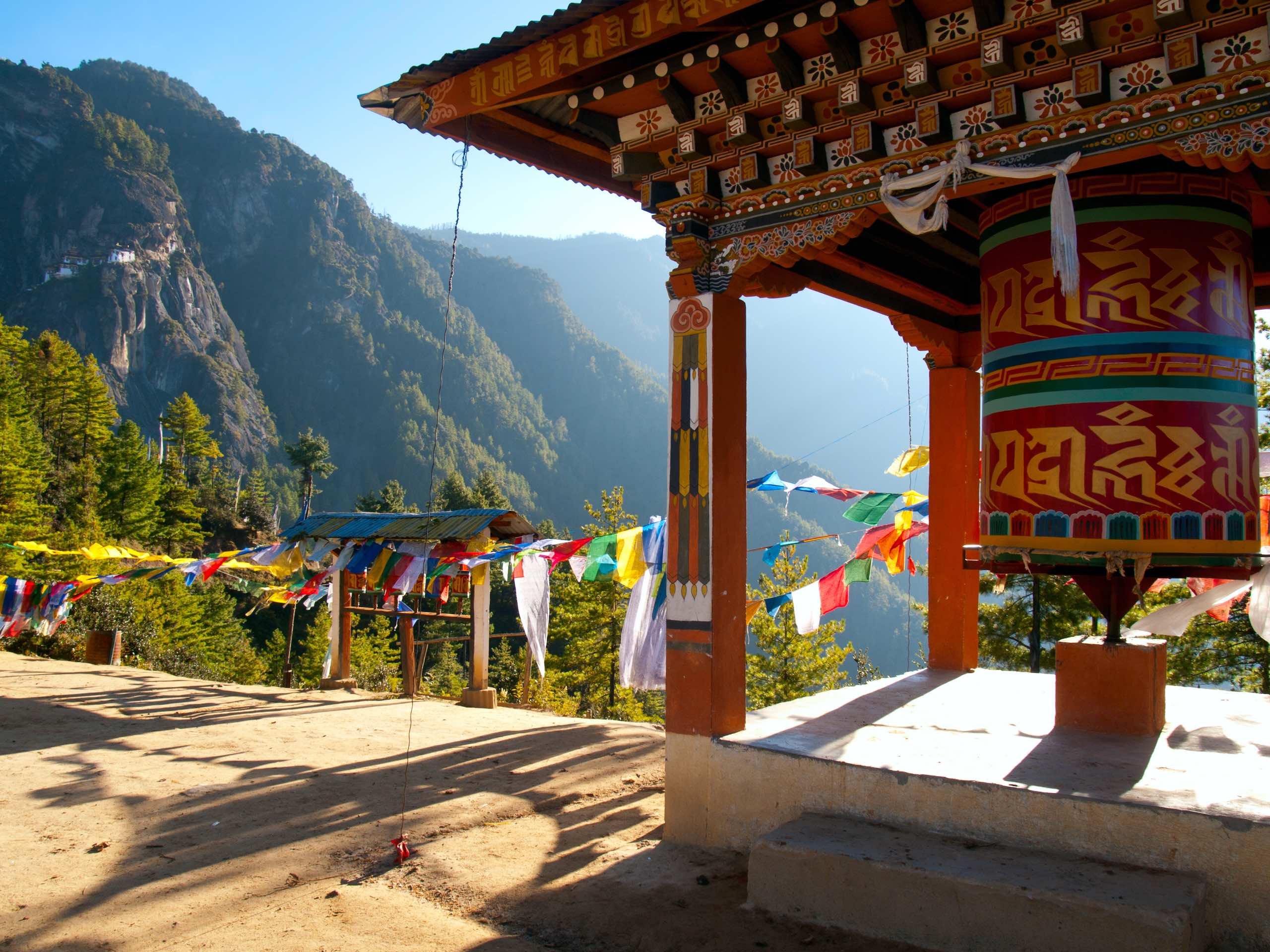 Taktshang monastery Paro Bhutan