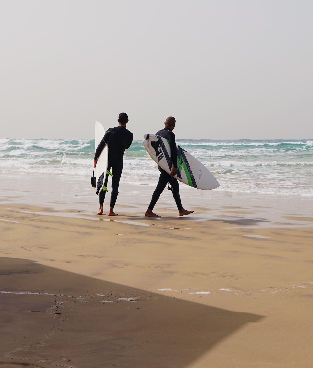 Surf in Tel Aviv beach