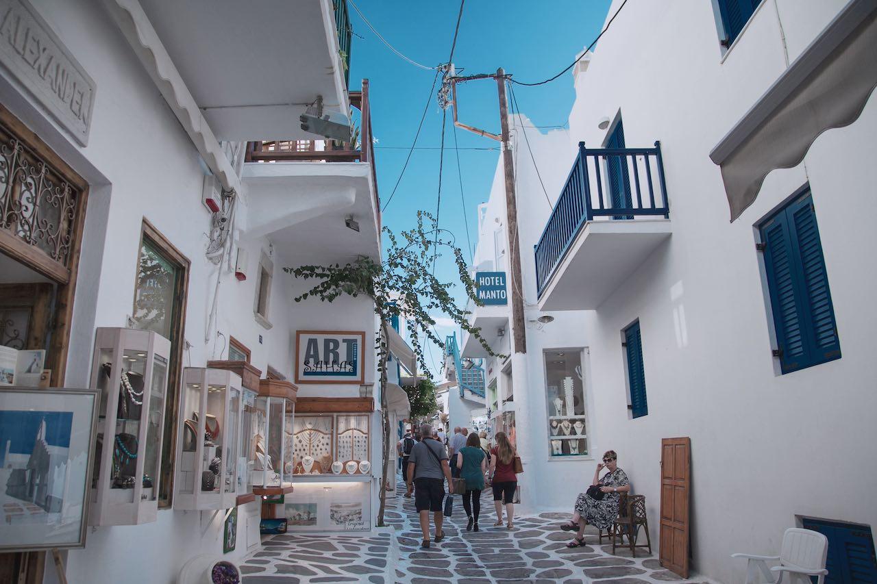 Architecture Buildings Mykonos