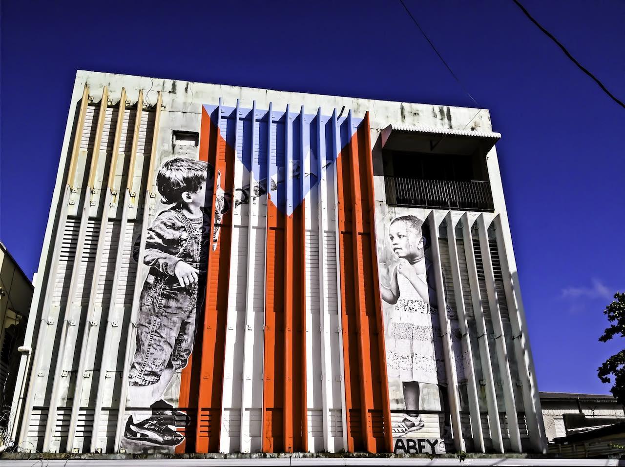 Graffiti Mural San Juan